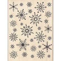 """Штамп """"Snowflake Medley"""""""