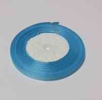 Лента-репс голубая 7 мм (1 метр)