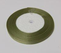 Лента-репс оливковая 7 мм (1 метр)