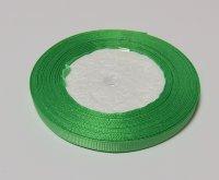 Лента-репс ярко-зеленая 7 мм (1 метр)