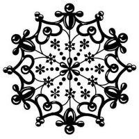 "Штамп ""Snowflake"""