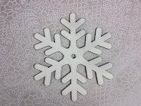 Деревянная фигурка Снежинка 1, 16х16 см