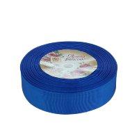 Лента-репс синяя 2,5 см (1 метр)